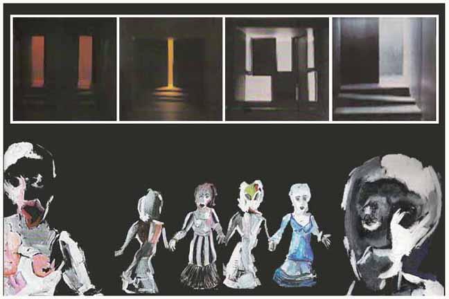 Berlin University Of The Arts Hdk Project Oedipus Set Costume Design